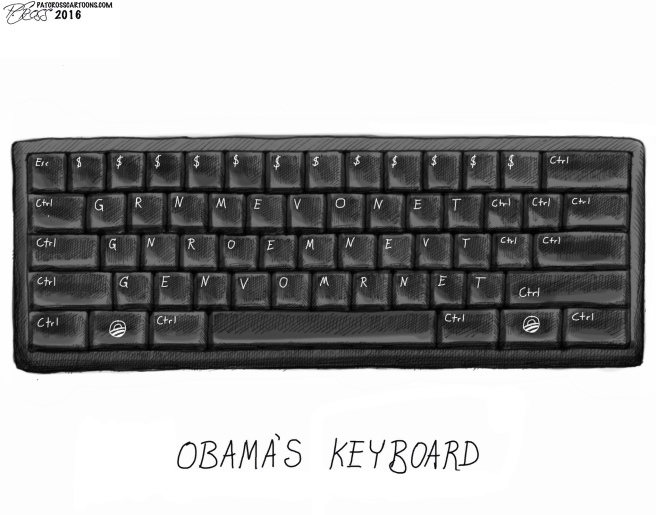 Obama's keyboard