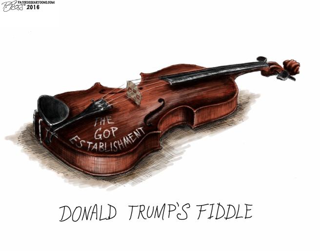 Trump's Fiddle