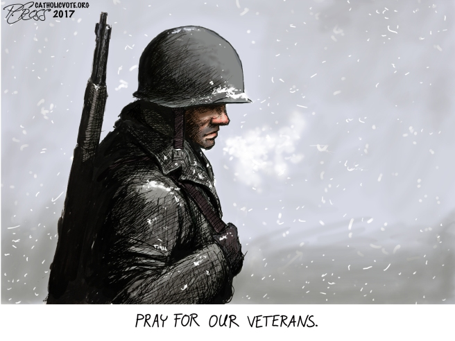 Pray for our veterans