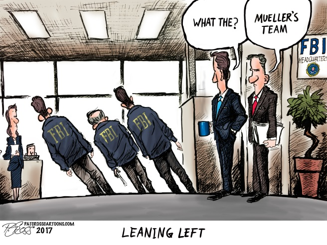 Leaning left