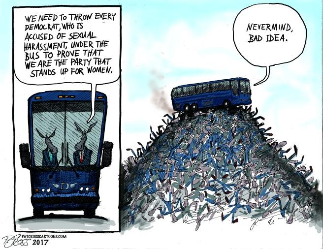 under the buss