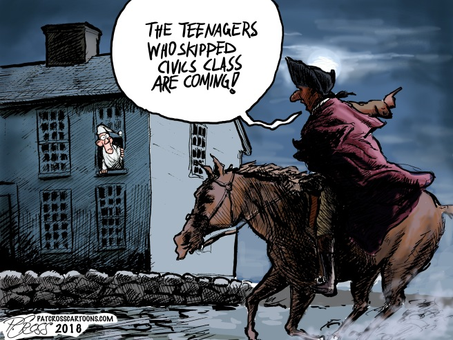The Teenagers Are Coming